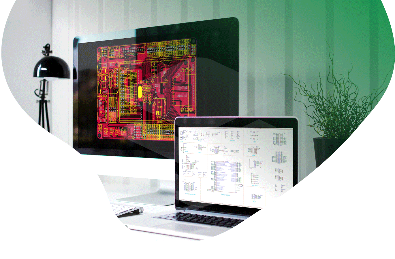PCB Layout and schematic design services in India
