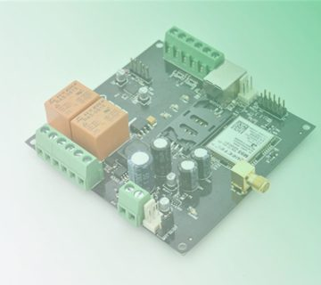 GSM based relay Controller PCB Design