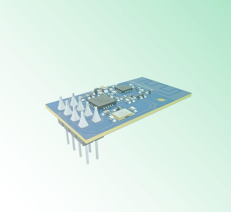 nrf24l01 rf module PCB